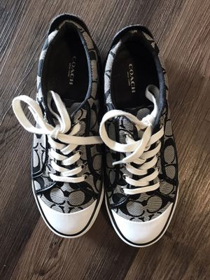 Authentic Coach Signature Tennis Shoes for Sale in Richmond, CA