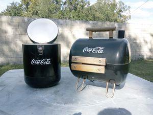 Coca Cola Mini Cooler & Grill for Sale in Riverview, FL