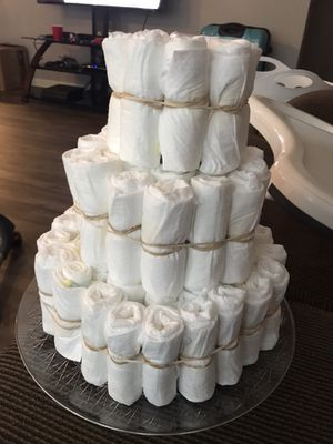 Diaper cake vase for Sale in Bend, OR