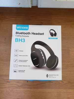 New Bluetooth headphones. With SD card slot for mp3. Cost $90 for Sale in Kennewick, WA