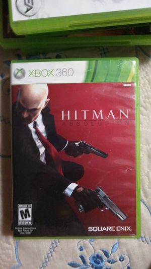 Pre-owned XBOX360 Hitman Absolution for Sale in Rosemead, CA