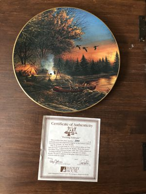 """Terry Redlin """"That Special Time"""" Collection 3 of 4 Plates for Sale in Grand Prairie, TX"""