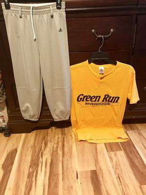 Baseball Uniform, helmet and gloves for Sale in Virginia Beach, VA