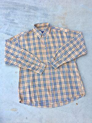 Vintage Burberry shirt size XL for Sale in Glendale, AZ