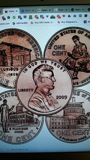2009 Bicentennial Penny P&D Mint for Sale in St. Petersburg, FL