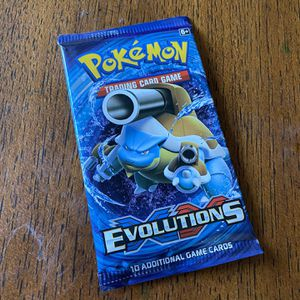 Pokémon Card Xy Evolutions Booster Pack for Sale in Fountain Valley, CA