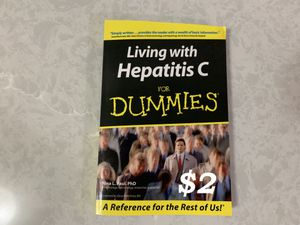 Living with Hepatitis C for Dummies by Nina L. Paul (2005, Paperback) for Sale in Portland, OR