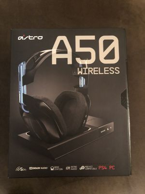 Headphones Astro a50 for ps4 and pc for Sale in Hayward, CA