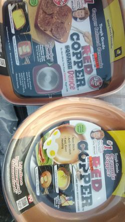 Red copper pans for Sale in Denver,  CO