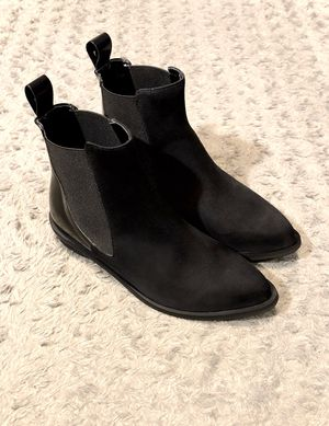 New! Women's Annarita N. Boots paid $190 size 36 Brand new never worn. ankle boots leather & suede elasticized sides extends, narrow toeline, leather for Sale in Washington, DC