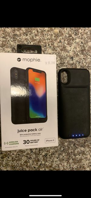 Mophie Charging Case iPhone X for Sale in Austin, TX