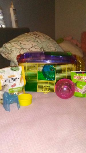 Hamster cage for Sale in Cherry Valley, CA