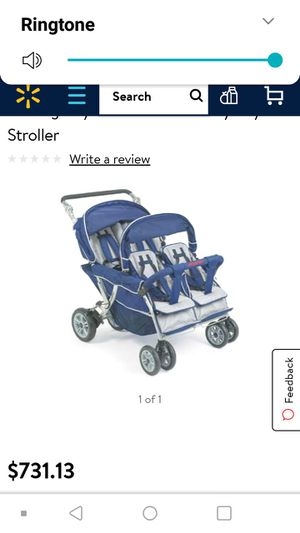 Quad Baby Stroller , 4 child for Sale in Saint Paul, MN