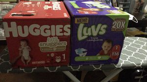 Luvs diapers for Sale in Shaker Heights, OH