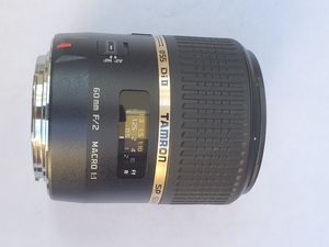 Tamron Auto Focus 60mm f/2.0 SP DI II LD IF 1:1 Macro Lens for Sale in Fort Lauderdale, FL