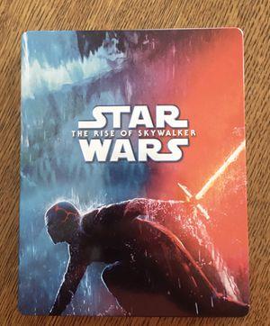 Star Wars The Rise of Skywalker 4K and Blu Ray Steelbook for Sale in Bakersfield, CA