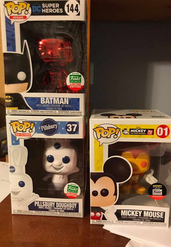 Funko Pop - Rare Exclusives 12 days of Christmas