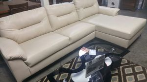 Sofa with chaise for Sale in Portland, OR