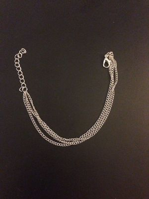 Woman fashion multi layer Chain anklet bracelet for Sale in Nuevo, CA