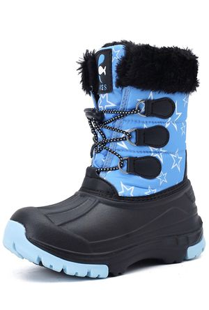 Kids Snow Boots Boys & Girls Winter Boots Lightweight Waterproof Cold Weather Outdoor Boots 13 Little Kid for Sale in Tempe, AZ
