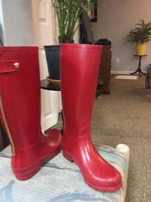Women Kate Spade rain boots size 8 for Sale in Frederick, MD