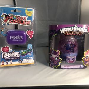 New Spin Master Hatchimals Wowwee Fingerlings Mini Play Set for Sale in New York, NY