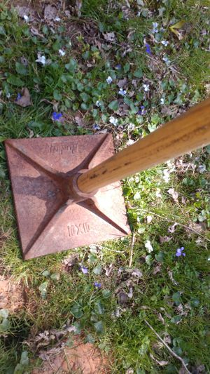 "10x10"" tamper ludell very sturdy and heavy for Sale in Vienna, VA"