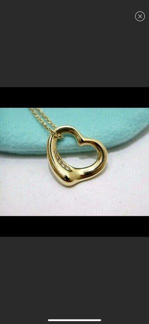 Tiffany and co Elsa Peretti Diamond 18K Necklace for Sale in Los Angeles, CA