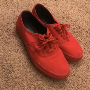 Red vans for Sale in Raleigh, NC