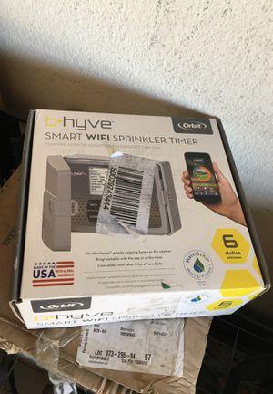 Orbit B-hyve 6-Zone Indoor/Outdoor Smart Sprinkler Controller, Works with Amazon Alexa for Sale in Anaheim, CA