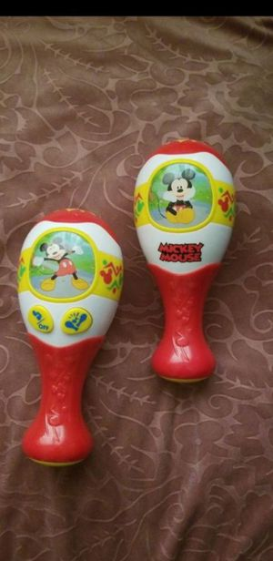 Mickey Mouse toy maracas for Sale in Chandler, AZ