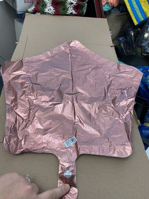 """New Rose Copper Star 19"""" Foil Balloon! for Sale in Pittsburg, CA"""