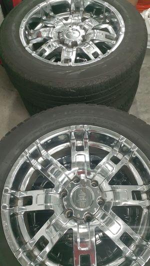 275/55 R 20 pirelli scorpion tires Good Tread for Sale in Portland, OR
