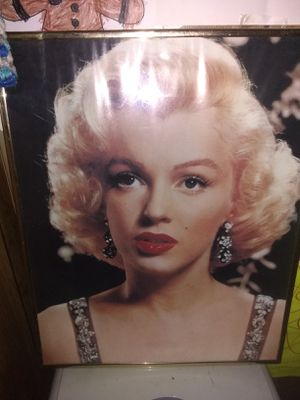 Marilyn Monroe and Michael Jackson picture for Sale in Pekin, IL