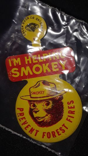 Smokey the bear badge for Sale in Whittier, CA