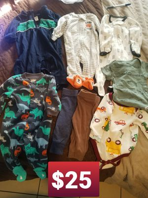 Baby clothes size Newborn for Sale in Bell, CA