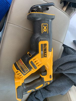 Dewalt Sawzall 20vt brushless for Sale in Gastonia, NC