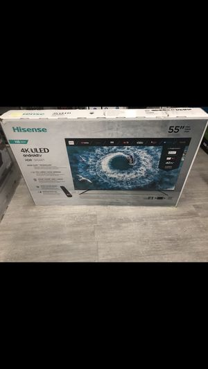 55 INCH HISENSE ROKU 4K R8 SMART TV for Sale in Chino Hills, CA