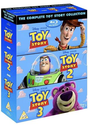 Toy Story Collection 3 blue-ray disc, all the languages for Sale in Miami, FL