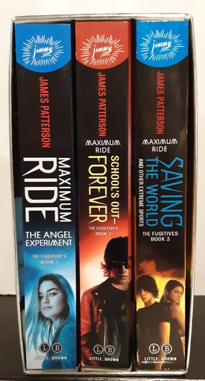 Maximum Ride 3-Box Set: Maximum Ride, School's Out Forever, Saving the World for Sale in McDonough, GA