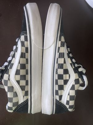 Vans black and white checkered size 7.5 for Sale in Arcadia, CA