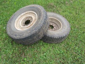 Truck rims/rubber for Sale in Chehalis, WA