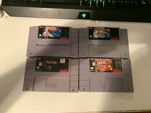 Super Nintendo Games for Sale in Austin, TX