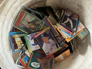Bucket of cards for Sale in Columbus, OH