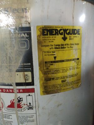 Gas water heater 83 gallons for Sale in St. Louis, MO