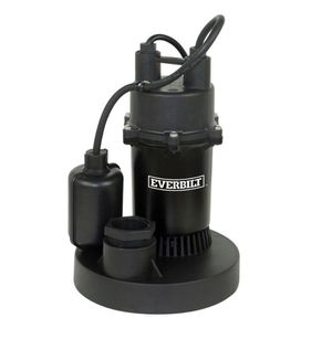 Everbilt 1/3 HP Aluminum Submersible Sump Pump with Tether for Sale in Doral, FL