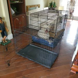 Dog CRATE 2 Door LARGE KENNEL 36 L X 25 H X 23 W for Sale in Maitland, FL