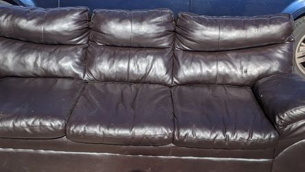 Pleather couch for Sale in Smyrna,  TN