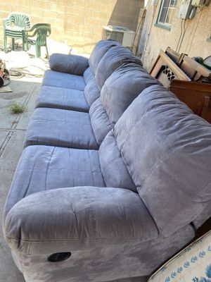 Large sofa soft and recliners for Sale in Glendora, CA