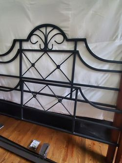 Queen Bed Frame (Box Spring Available) for Sale in East Point,  GA